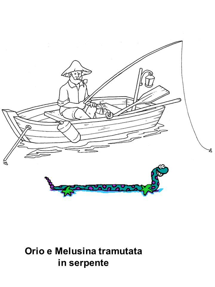 Orio e Melusina tramutata in serpente