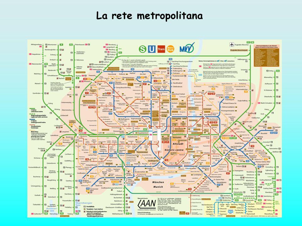 La rete metropolitana