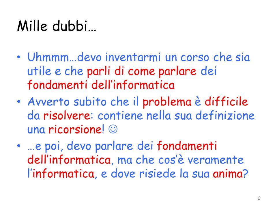 Insiemi numerabili Un insieme è numerabile (possiede uninfinità numerabile di elementi) i suoi elementi possono essere messi in corrispondenza biunivoca con i numeri naturali.
