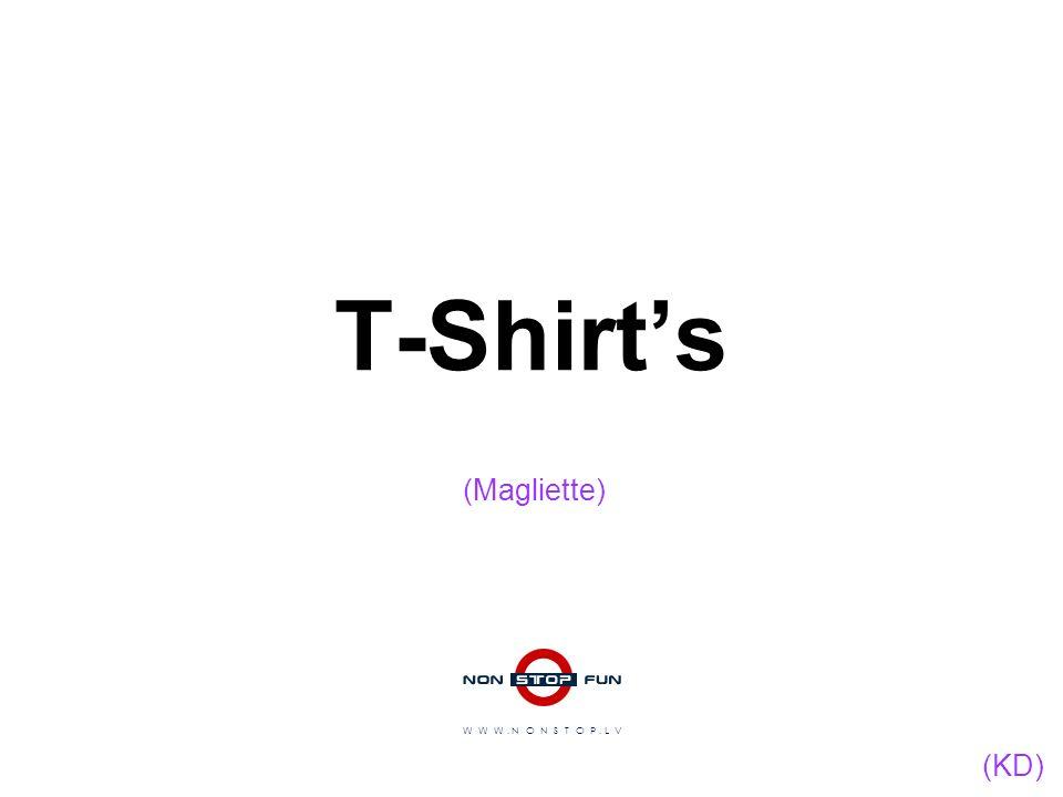 T-Shirts W W W. N O N S T O P. L V (Magliette) (KD)