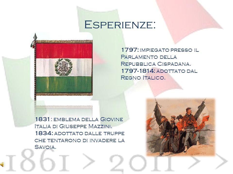 La Bandiera Italiana Nome: Tricolore Professione: bandiera nazionale italiana Data di nascita: 14 novembre 1794 Luogo di nascita: Bologna Il Senato di