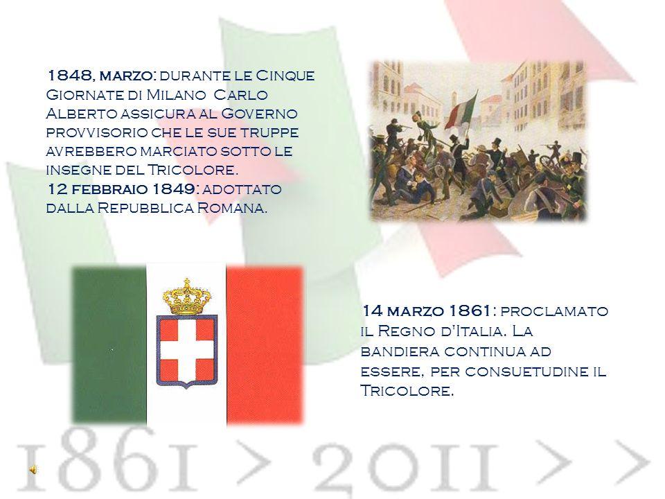 1797: impiegato presso il Parlamento della Repubblica Cispadana. 1797-1814: adottato dal Regno Italico. 1831: emblema della Giovine Italia di Giuseppe