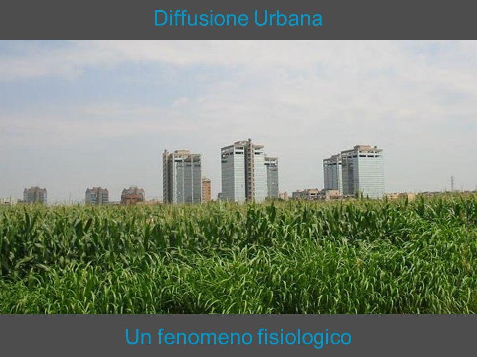 Diffusione Urbana I sistemi economici territoriali di successo e ad alto reddito, in presenza di tecnologie che consentono di superare gli ostacoli della distanza fisica, tendono a diffondersi nello spazio