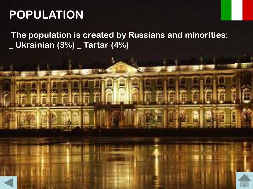 POPOLAZIONE E INSEDIAMENTO La maggioranza della popolazione è costituita da russi (di religione cristiana ortodossa) e da essi si aggiungono gruppi di