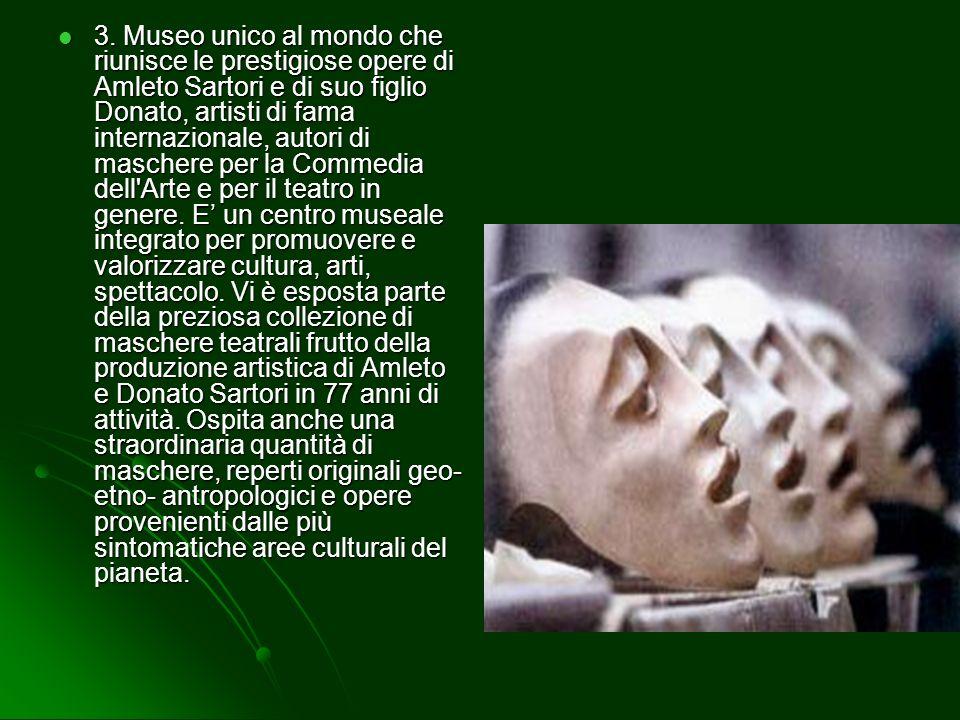 2. Ad Abano è possibile visitare la pinacoteca civica del Montirone la quale è utilizzata anche come mostra e costituisce insieme allattigua galleria