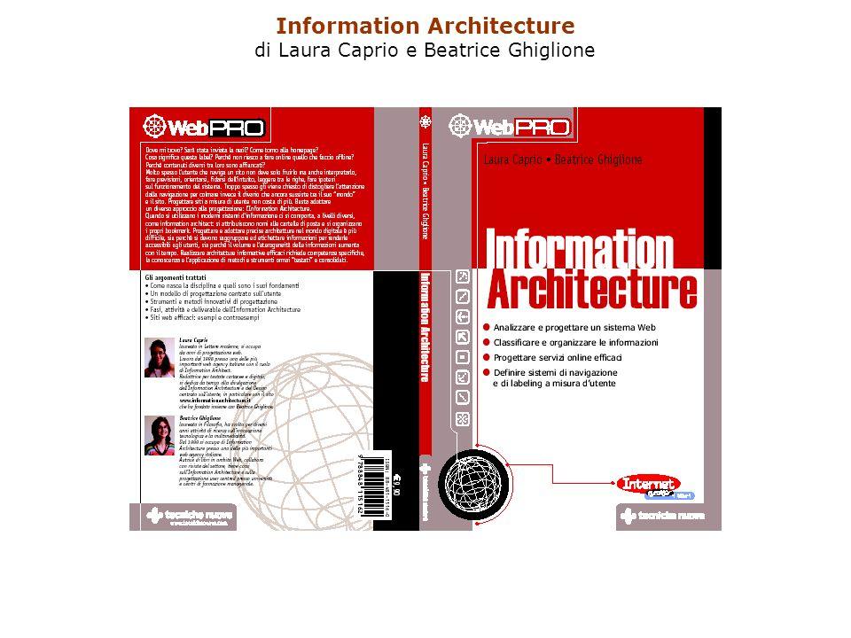 Information Architecture di Laura Caprio e Beatrice Ghiglione