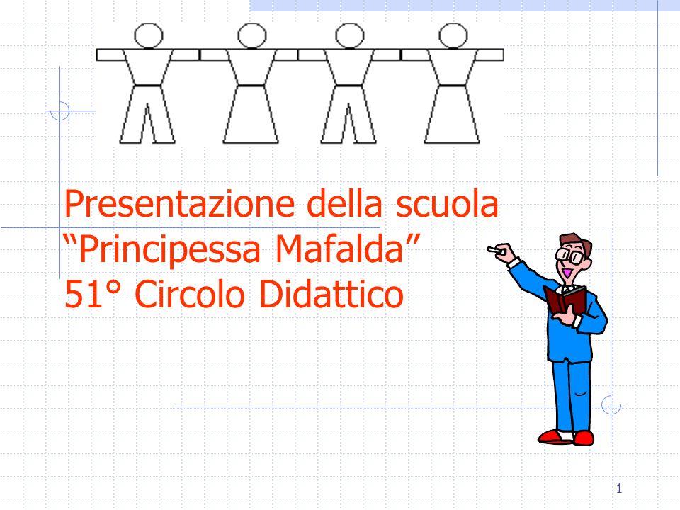 1 Presentazione della scuola Principessa Mafalda 51° Circolo Didattico