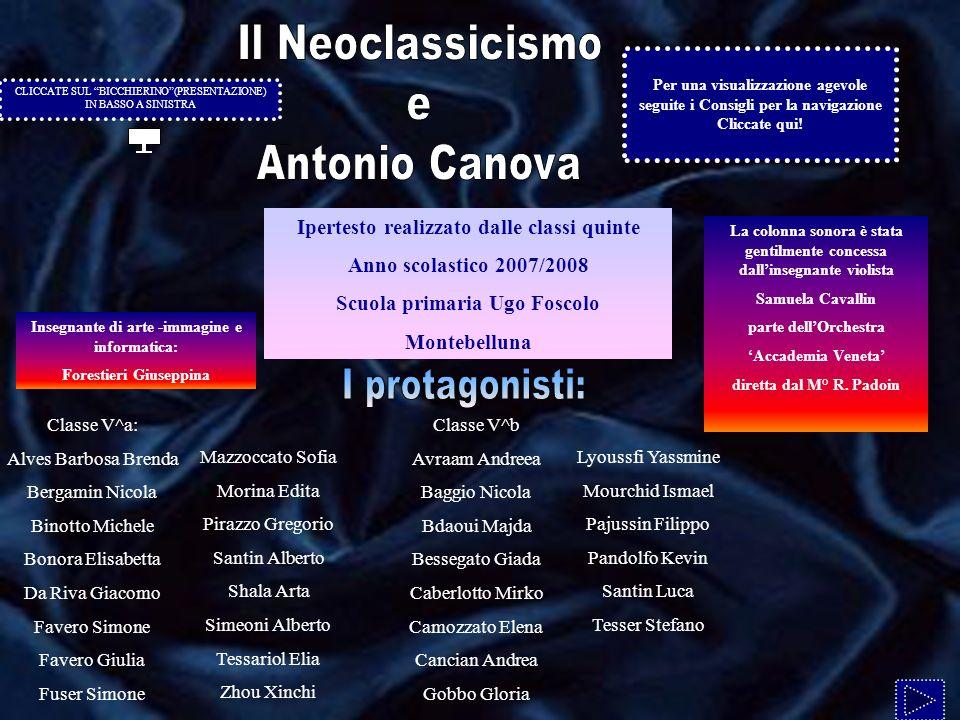 Ipertesto realizzato dalle classi quinte Anno scolastico 2007/2008 Scuola primaria Ugo Foscolo Montebelluna La colonna sonora è stata gentilmente conc