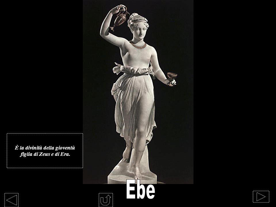 È la divinità della gioventù figlia di Zeus e di Era.