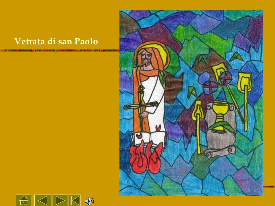 Vetrata di san Paolo