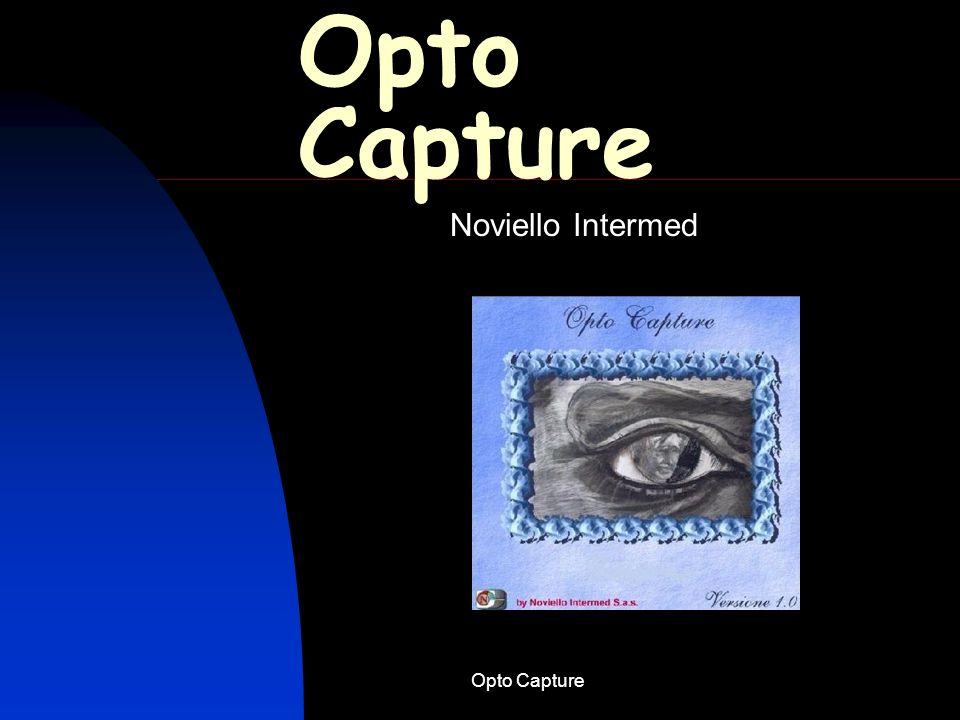 Opto Capture Schema semplificato per lutilizzo del software Opto Capture 13.