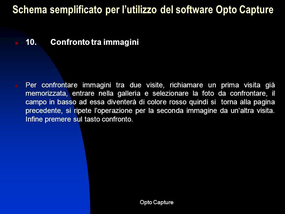 Opto Capture Schema semplificato per lutilizzo del software Opto Capture 9. Come evidenziare un particolare di una foto Se si vogliono evidenziare par