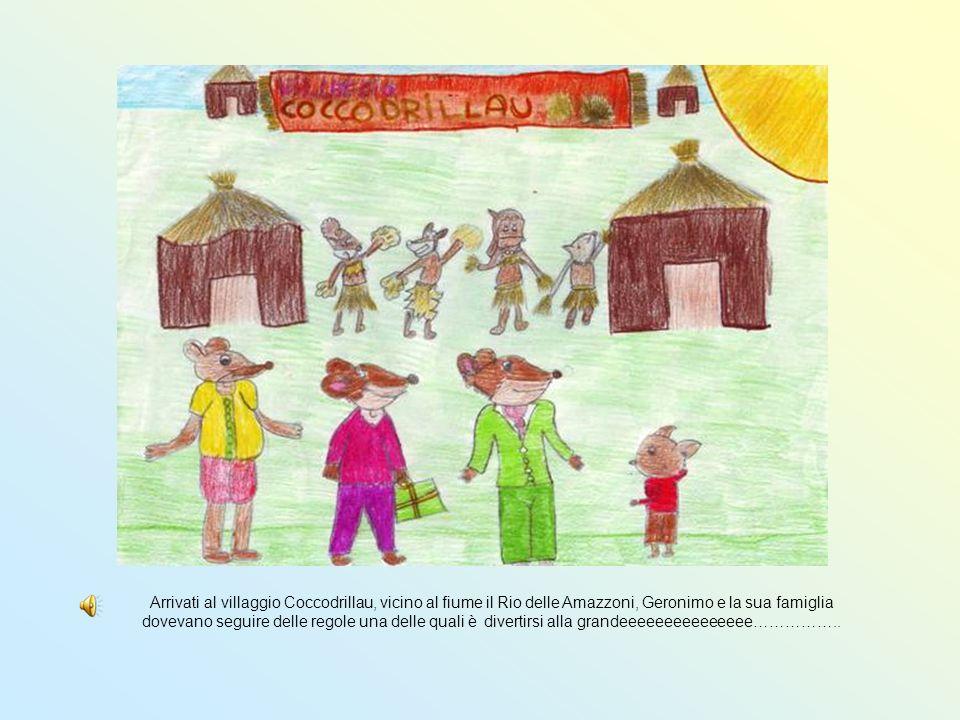 Arrivati al villaggio Coccodrillau, vicino al fiume il Rio delle Amazzoni, Geronimo e la sua famiglia dovevano seguire delle regole una delle quali è