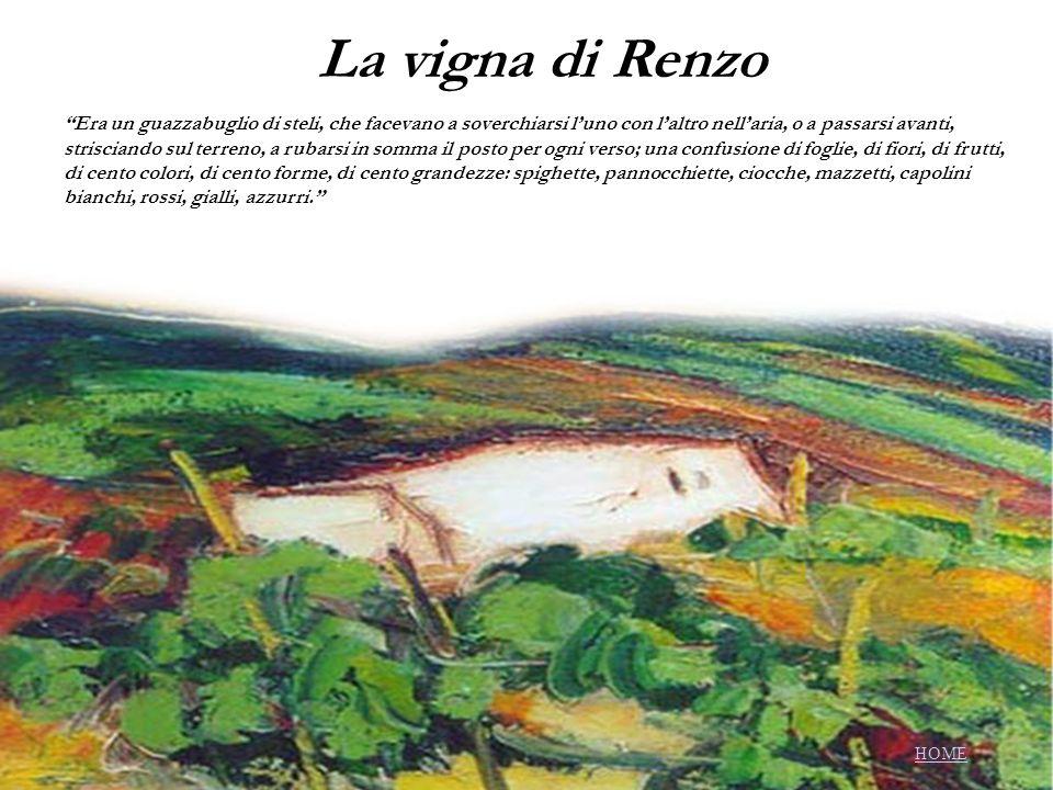 La vigna di Renzo Era un guazzabuglio di steli, che facevano a soverchiarsi luno con laltro nellaria, o a passarsi avanti, strisciando sul terreno, a
