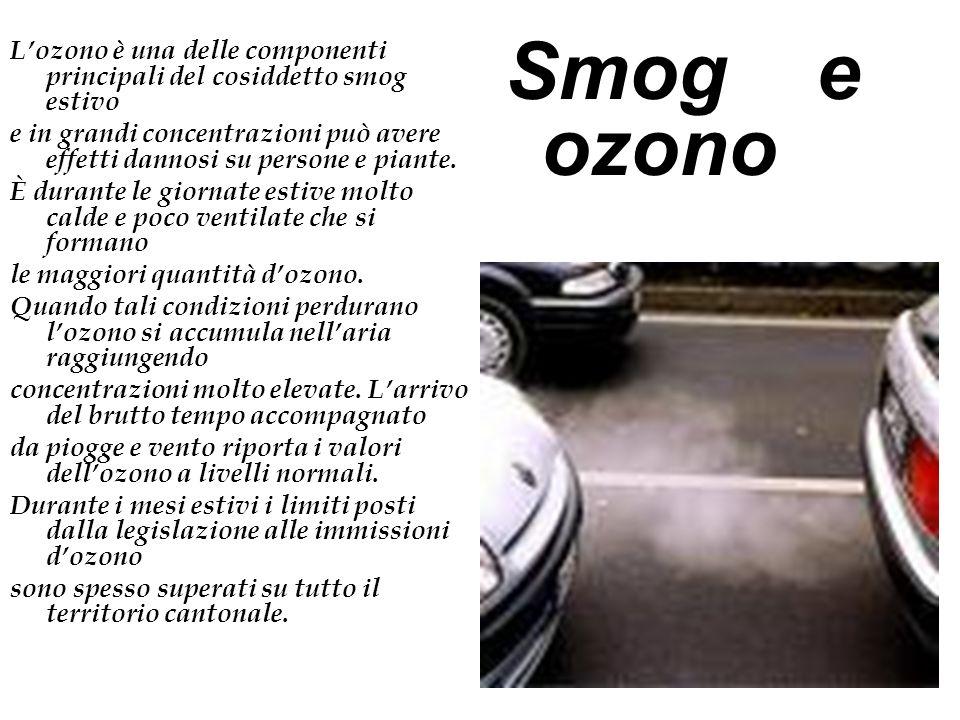 Lozono è una delle componenti principali del cosiddetto smog estivo e in grandi concentrazioni può avere effetti dannosi su persone e piante. È durant