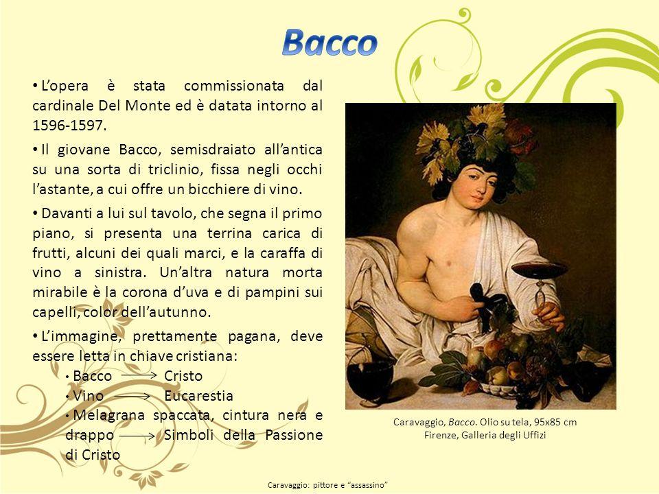 Lopera è stata commissionata dal cardinale Del Monte ed è datata intorno al 1596-1597.