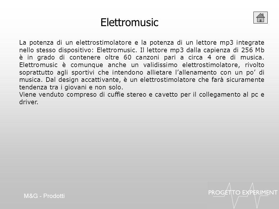 La potenza di un elettrostimolatore e la potenza di un lettore mp3 integrate nello stesso dispositivo: Elettromusic. Il lettore mp3 dalla capienza di