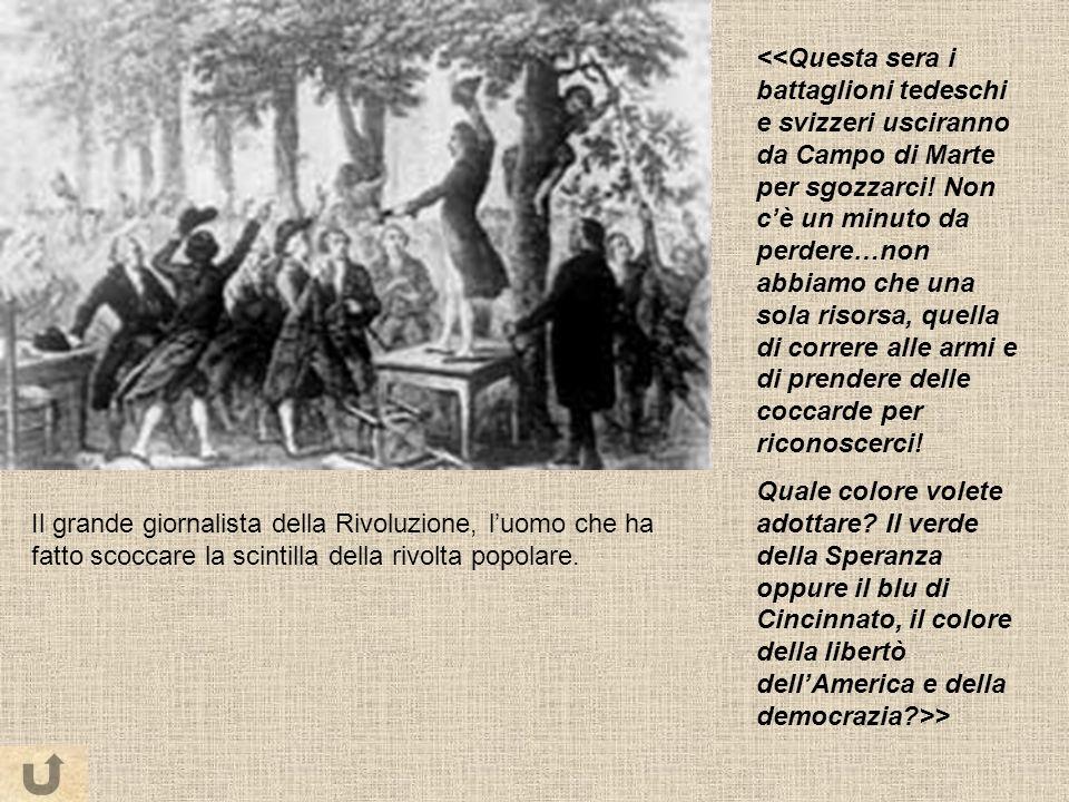Il grande giornalista della Rivoluzione, luomo che ha fatto scoccare la scintilla della rivolta popolare.