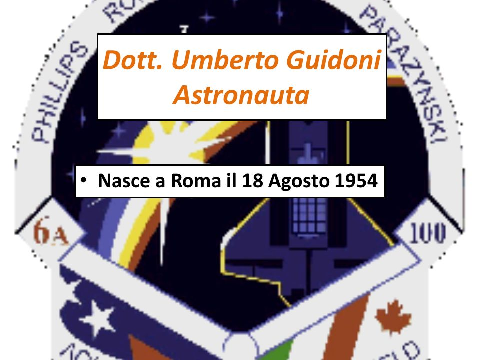 Nell Aprile 1999, Guidoni è assegnato alla missione STS-100 pianificata per la primavera del 2001.