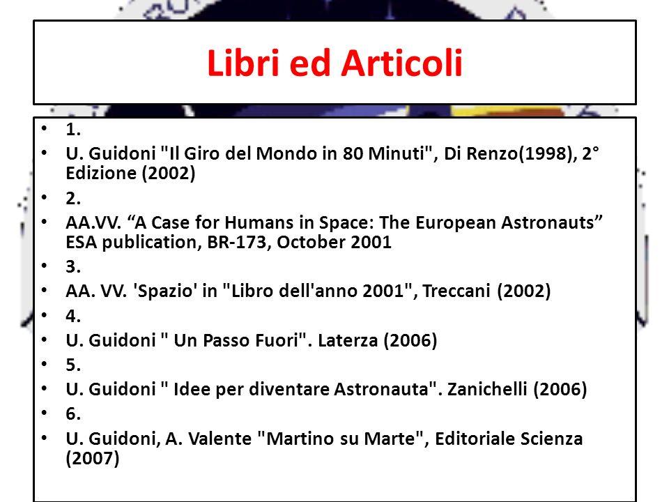Libri ed Articoli 1. U. Guidoni