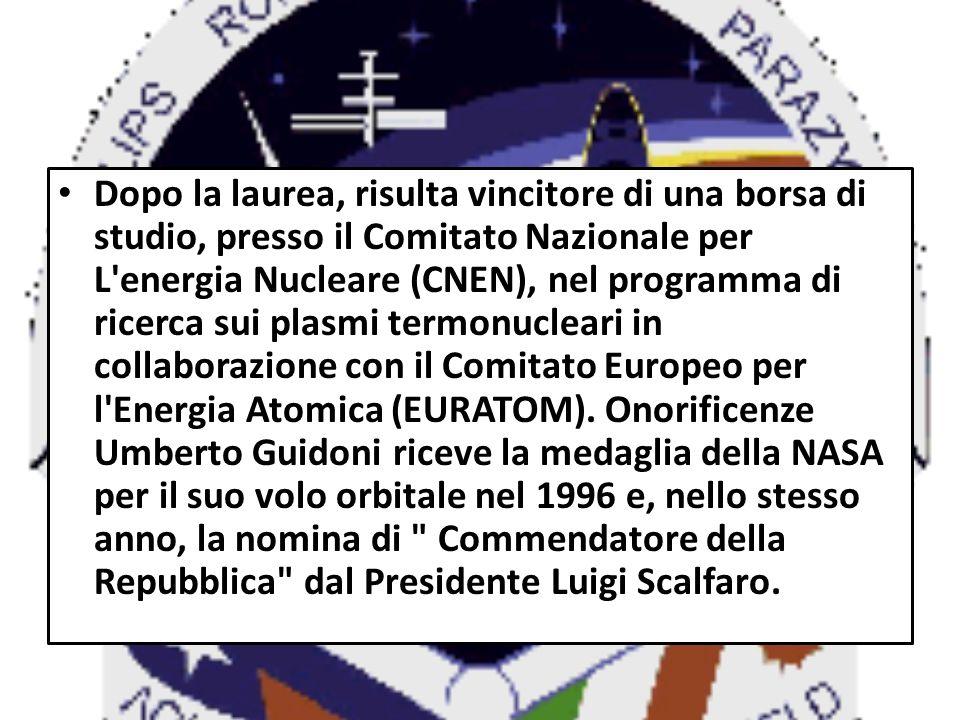 Una seconda medaglia della NASA gli viene assegnata dopo il secondo volo nel 2001 e, sempre nello stesso anno, è nominato Grande Ufficiale della Repubblica dal Presidente Carlo Azeglio Ciampi.