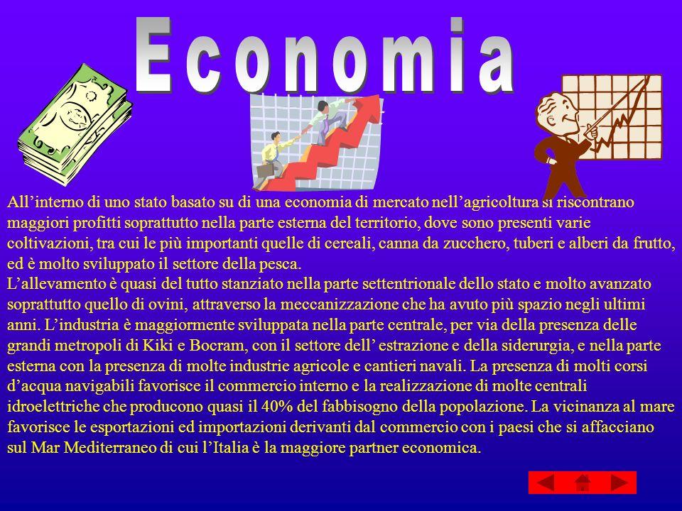 Allinterno di uno stato basato su di una economia di mercato nellagricoltura si riscontrano maggiori profitti soprattutto nella parte esterna del terr