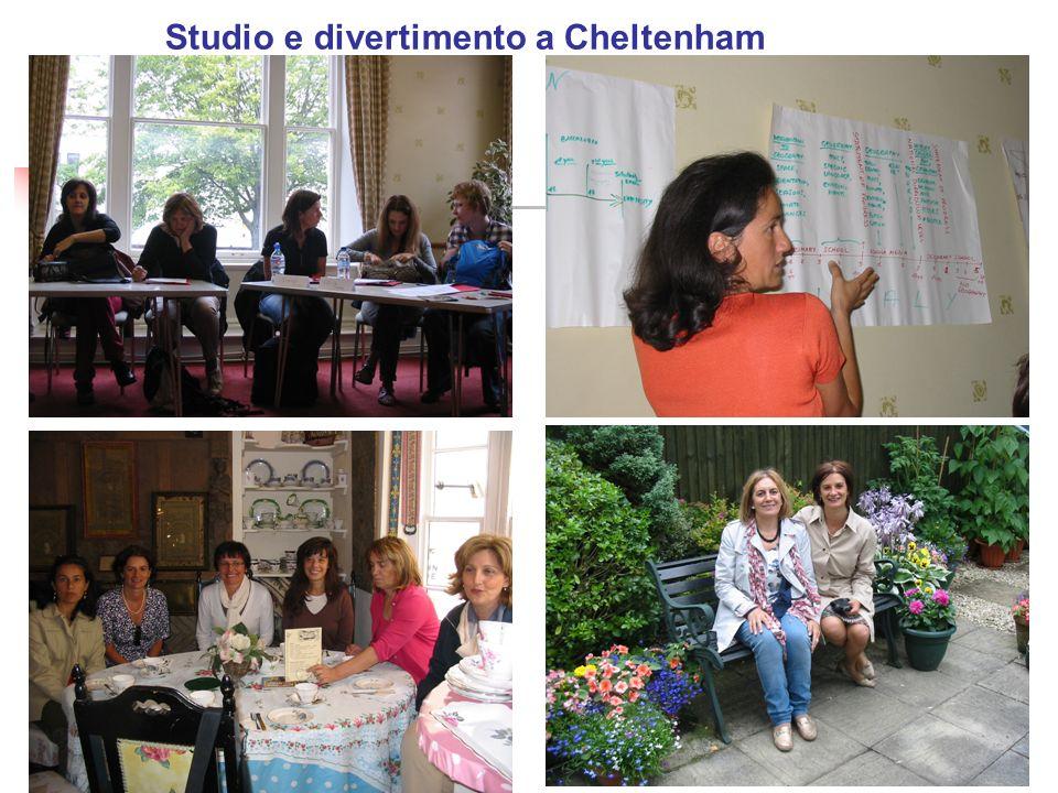 Studio e divertimento a Cheltenham
