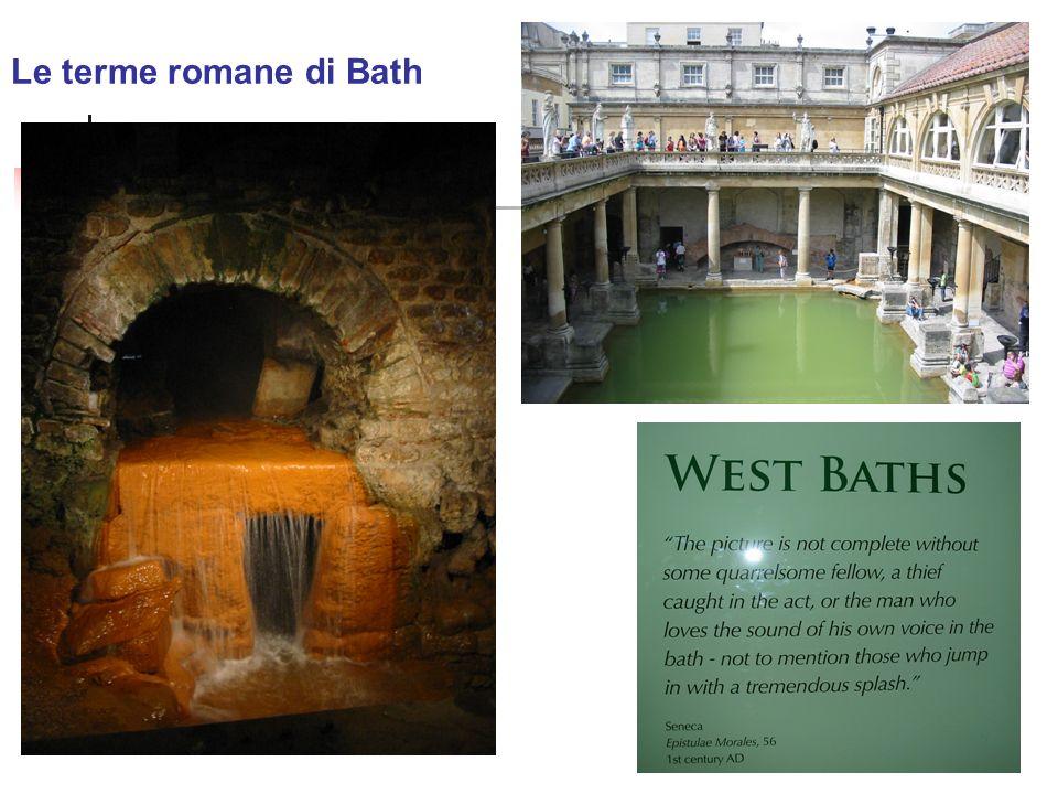 Le terme romane di Bath