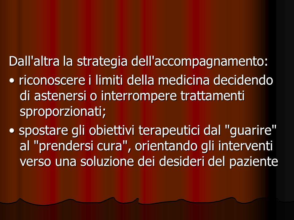 Cure Palliative: medicina olistica non prometeica, che accetta i propri limiti (non più invincibile.