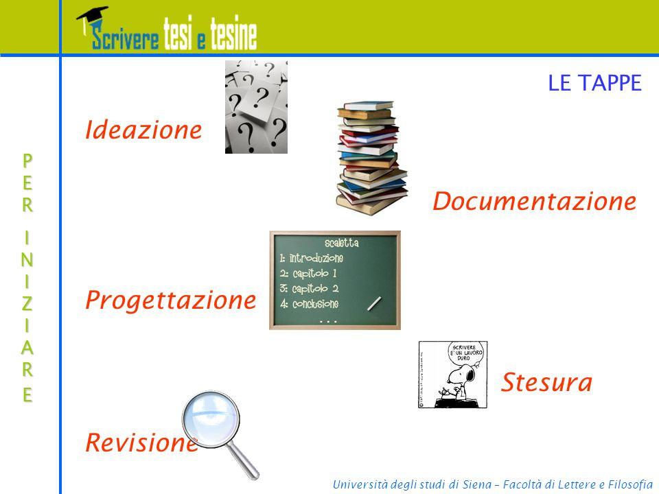 Università degli studi di Siena – Facoltà di Lettere e Filosofia...