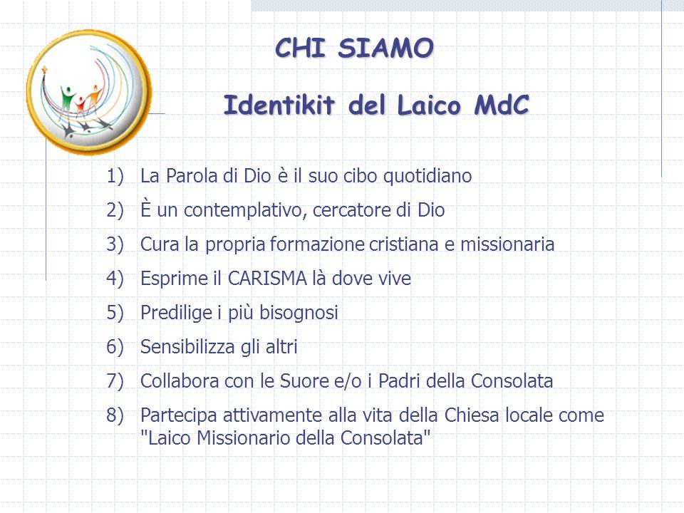 LMdC nellimpegno con gli emarginati e/o svantaggiati Interventi a sostegno di una comunità di ragazzi abbandonati o con famiglie disgregate.