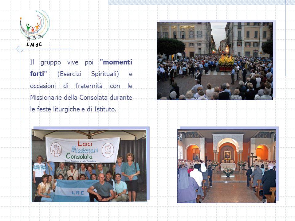QUANTI SIAMO E DOVE SIAMO I Gruppi di Laici Missionari della Consolata presenti in Italia sono : Gruppo di GRUGLIASCO (Torino) Gruppo del VENETO (Treviso) Gruppo di NEPI (Roma)