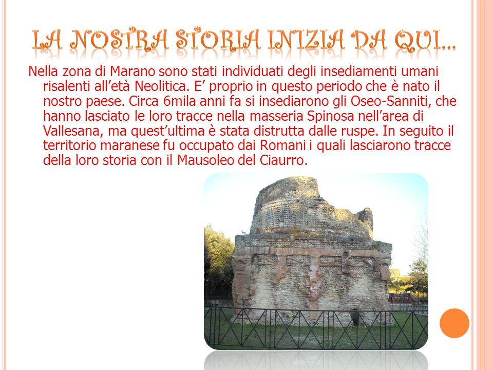 Il Ciaurro è un Mausoleo funebre Romano edificato nel 1 secolo d.C.