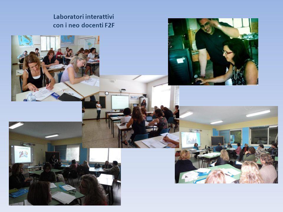 Laboratori interattivi con i neo docenti F2F