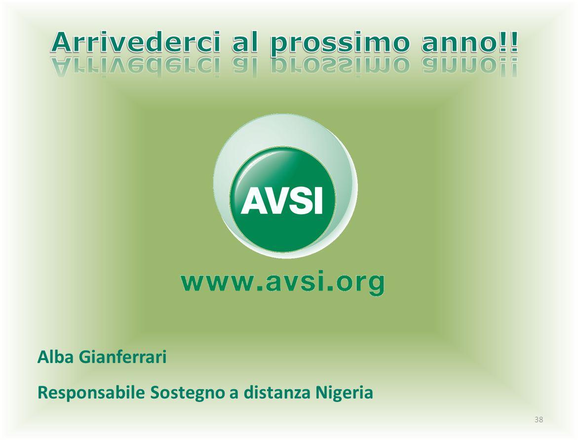 38 Alba Gianferrari Responsabile Sostegno a distanza Nigeria