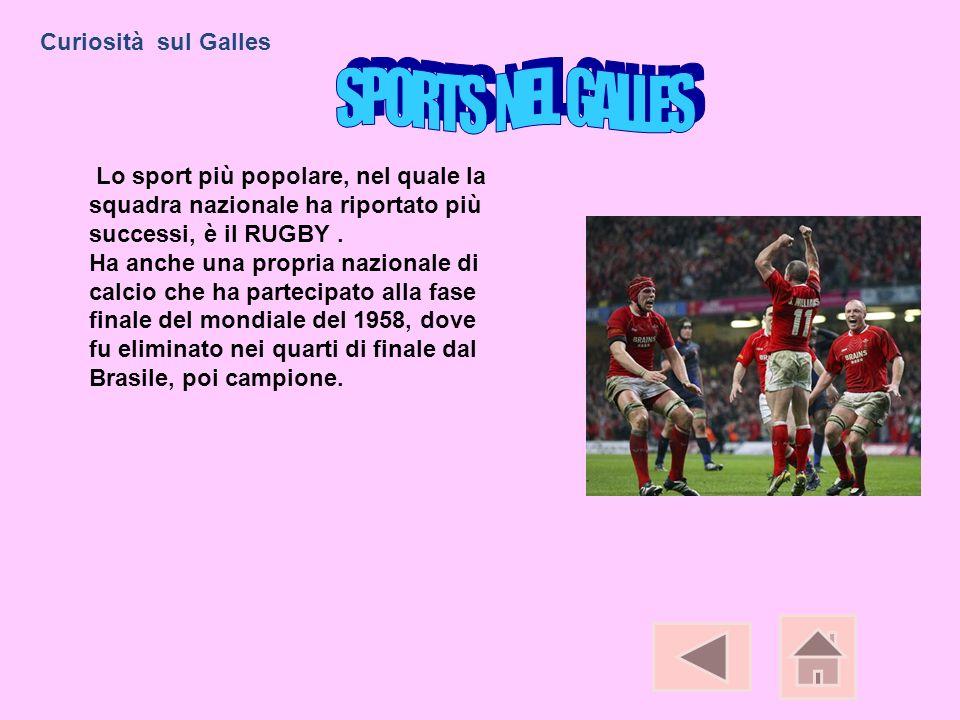 Lo sport più popolare, nel quale la squadra nazionale ha riportato più successi, è il RUGBY. Ha anche una propria nazionale di calcio che ha partecipa