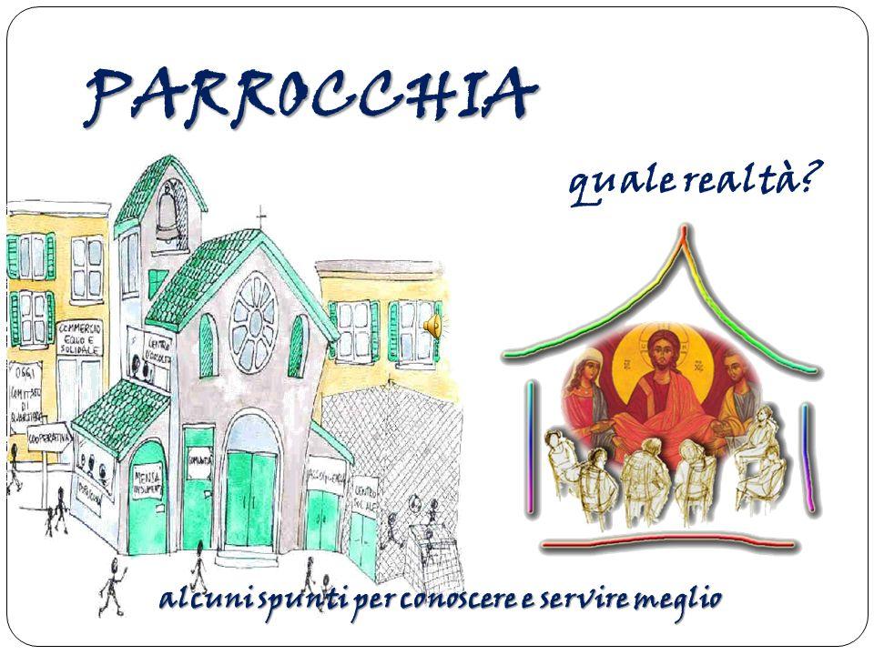 Parrocchia, dal greco paroikìa, significa abitazione presso .