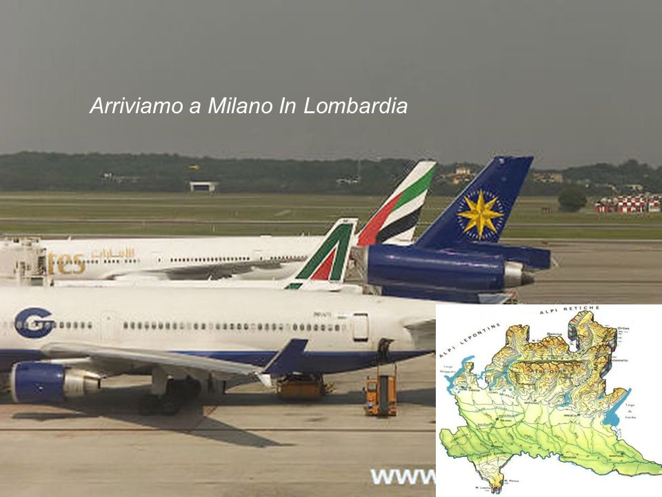 Are you ready to take your first trip to Italy, going to Milan and visit La Lombardia where Renzo e Lucia lived… Lets get our tickets Call Alitalia and make a reservations Travel from Kennedy airport to Milano malpensa Departure time 6:30 from New York Arrival time 7:35 in Milan
