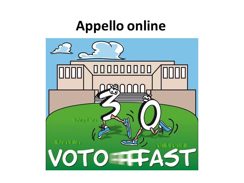 Appello online