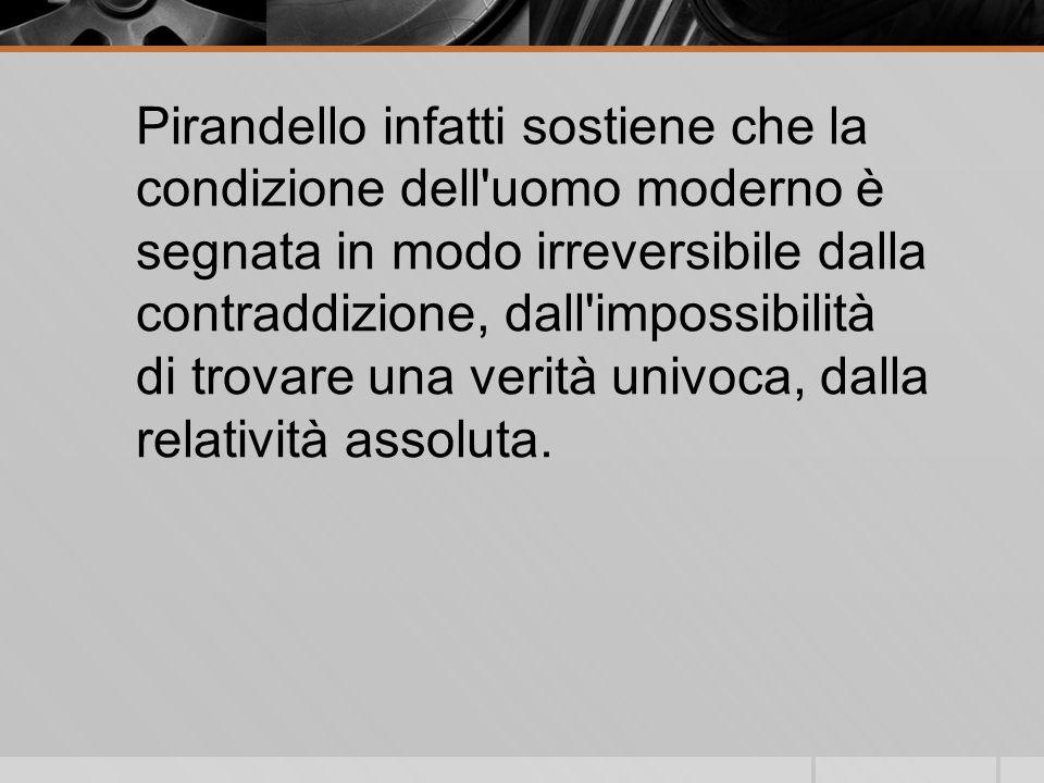 La vitaLa vita Luigi Pirandello nacque il 28 giugno 1867 presso Girgenti (ribattezzata poi Agrigento sotto il fascismo) Morì a Roma il 10 Dicembre 1936, due anni dopo aver ricevuto il premio Nobel per la letteratura.