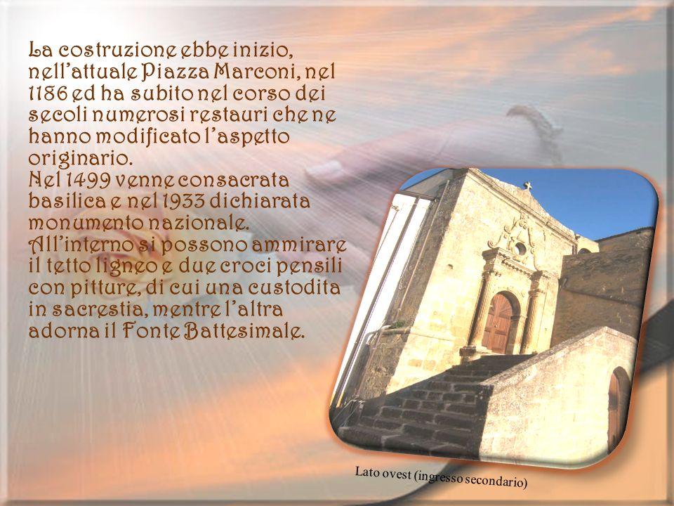 Chiesa della Misericordia Essa fu eretta nel secolo XV presso lantico Monte di Pietà, attuale via Peculio.