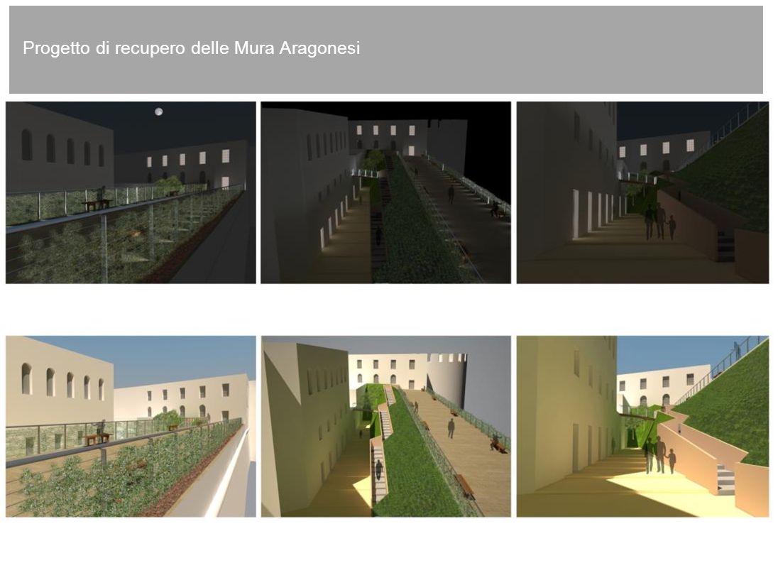 8 Progetto di recupero delle Mura Aragonesi