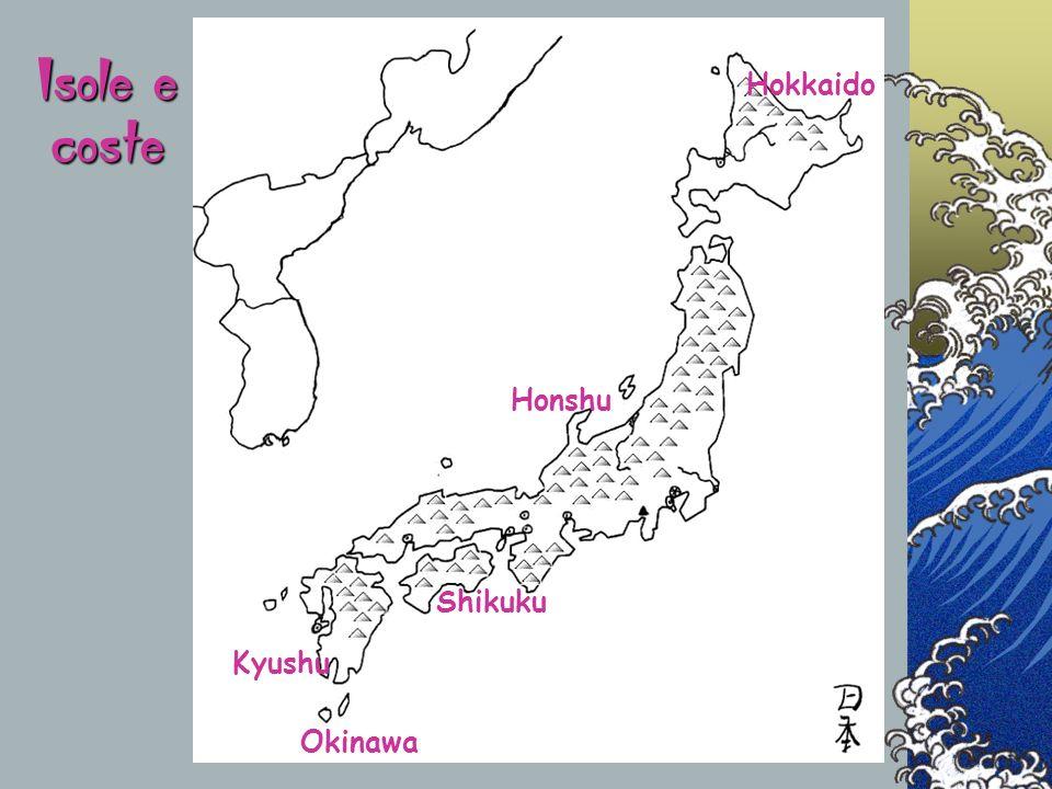 Per la grande longitudine del paese, le isole giapponesi presentano condizioni climatiche molto varie.