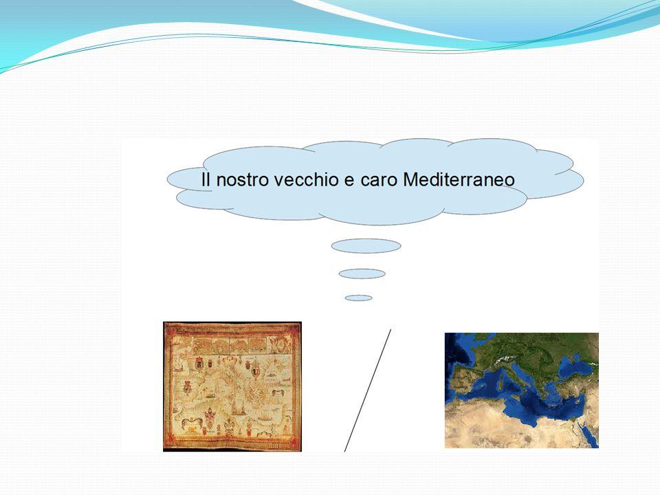 Il mare Mediterraneo Circa cinque milioni di anni fa, il Mar Mediterraneo era una vallata profonda e secca che divideva tre continenti: Europa, Africa e Asia.