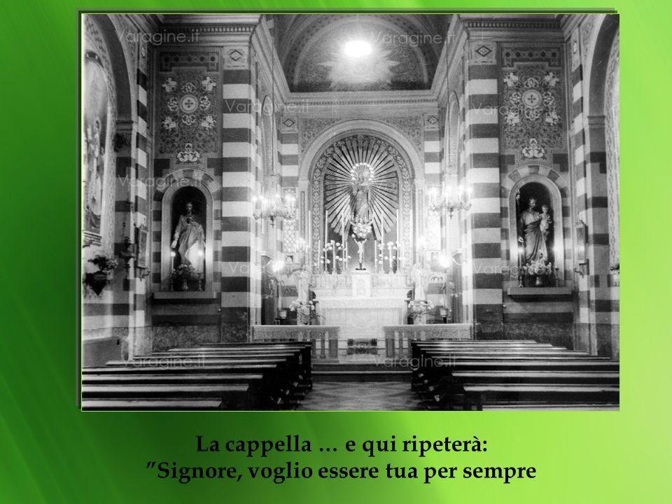 La portineria il porticato Tenere Dio sempre presente, nei corridoi, per le scale…