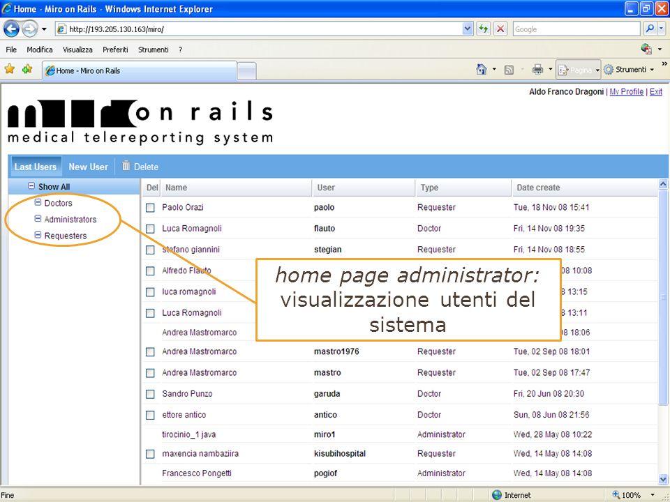 11 Ancona, 04/12/2008 L Amministratore gestisce il sistema, deve garantire la stabilità e la sicurezza. Le funzionalità principali sono: inserimento n