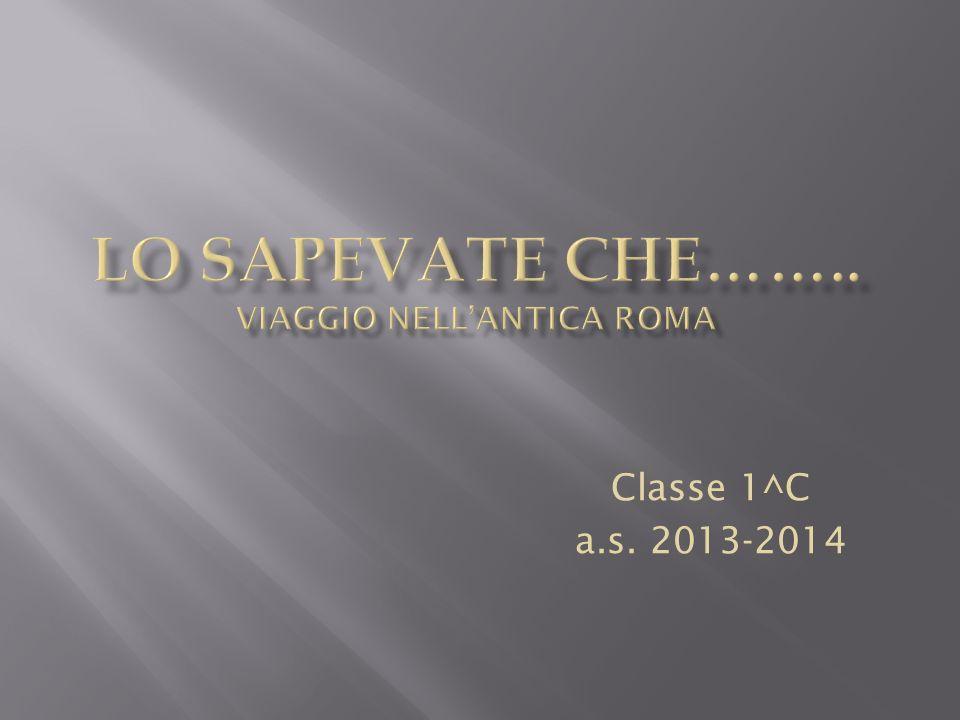 Classe 1^C a.s. 2013-2014