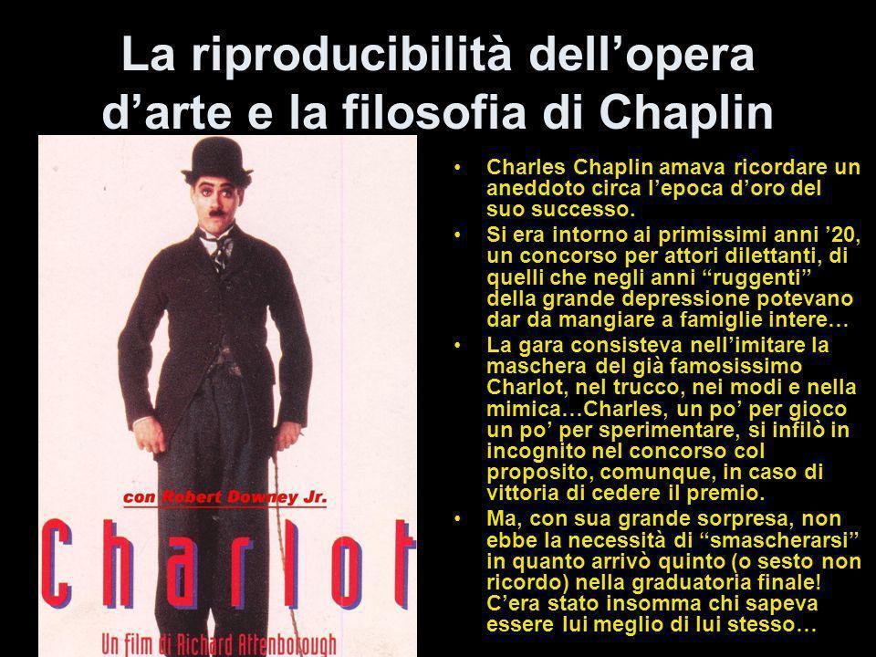 (LA TECNICA E UN MEZZO) La febbre dell'oro del 1925 è considerato per molti il maggior lavoro di Chaplin, l'opera successiva Il circo del 1928 era que