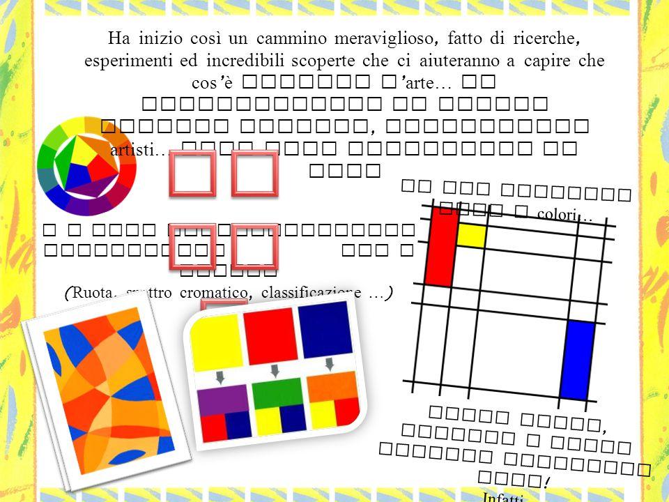 il I colori e le loro magie ( classificazione : primari e derivati ).