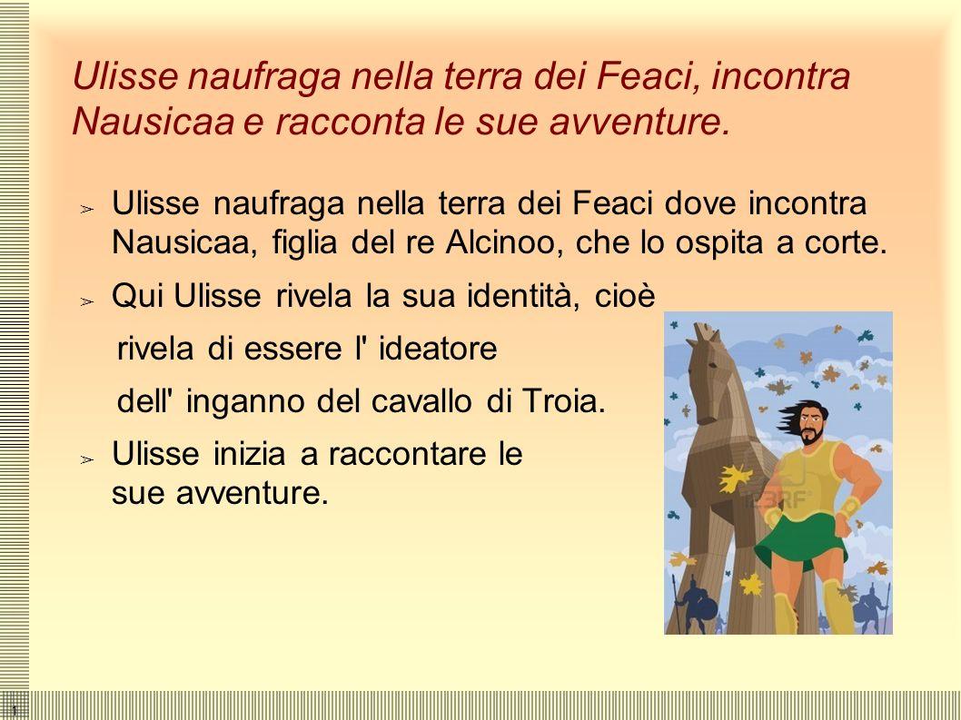 1515 Telemaco cerca Ulisse, prigioniero di Calipso. Appena libero, parte ma Poseidone si vendica. Telemaco va da Nestore, amico del padre, che non sa
